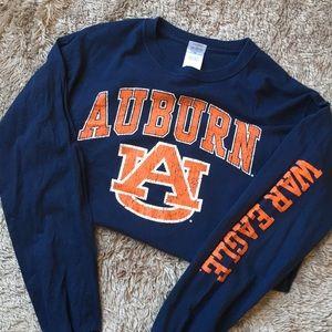 Auburn merch long sleeve war eagle T-shirt